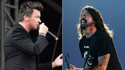 Watch Rick Astley cover a Foo Fighters' classic!
