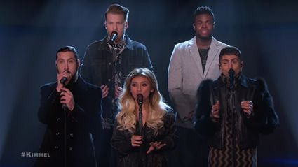 Pentatonix cover 'God Rest Ye Merry Gentlemen' on Jimmy Kimmel and it is magical!
