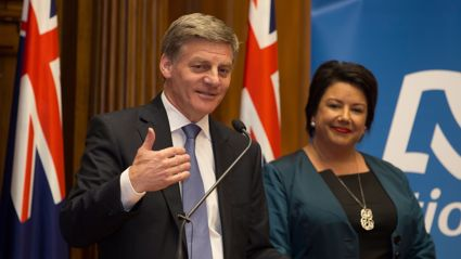 Polly Gillespie: Bill English is knee-deep in poop