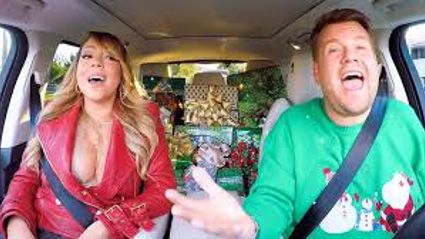 Mariah Carey and James Corden make our Christmas Wishes come True