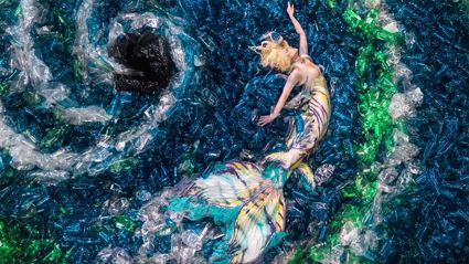 These mermaids may change the way you look at pollution