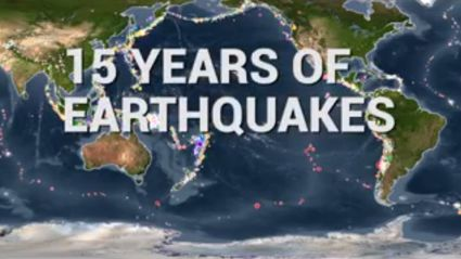 15 years of earthquakes