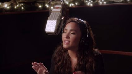 Demi Lovato belting out 'Silent Night' is the best thing you'll hear all day!