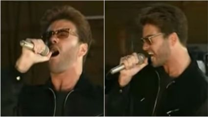 This behind-the-scenes footage of George Michael and David Bowie will give you chills