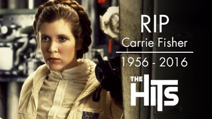 Carrie Fisher in Star Wars as Princess Leia. Photo / Supplied / NZ Herald