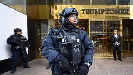 Trump Tower in New York evacuated after suspicious package found