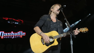 Keith Urban's tribute to Artists lost in 2016