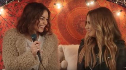 Ashley Tisdale and Vanessa Hudgens deliver beautiful duet for the first time ever