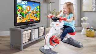 Fisher-Price has created a exercise bike for kids and people are very upset!