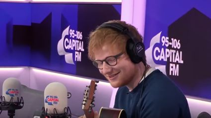 Ed Sheeran sings the Fresh Prince Of Bel-Air theme live... And nails it!