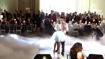 This 'Dirty Dancing' first dance is actually unbelievable!