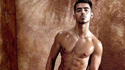 Joe Jonas strips down in steamy Guess underwear campaign