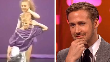 Ryan Gosling forced to watch his cringeworthy 1980s dance - and it's too funny