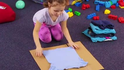 A cool folding technique for you and your kids...