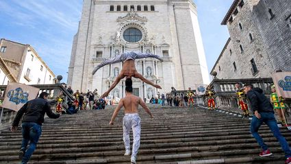 These acrobat brothers from Vietnam have just set a bizarre yet incredible world record