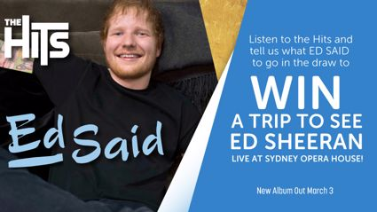 Win a trip to Sydney to see superstar Ed Sheeran!