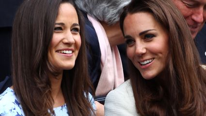 Kate and Pippa Middleton steal the show as bridesmaids in never before seen footage
