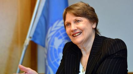 Helen Clark is stepping down from her position at UN
