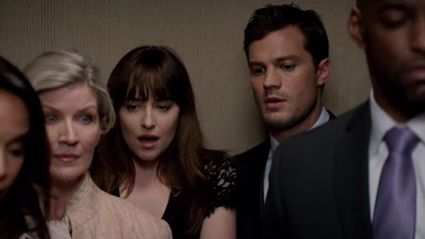 New Fifty Shades Darker trailer sees Christian Grey gets hands-on in steamy lift scene
