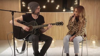 Ashley Tisdale performs acoustic cover of Britney Spears' 'Toxic' and it is EPIC!