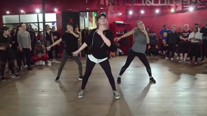 "You have to watch this incredible dance to Ed Sheeran's ""Shape of You"""