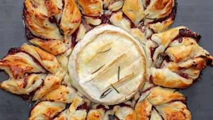 Camembert snowflake recipe