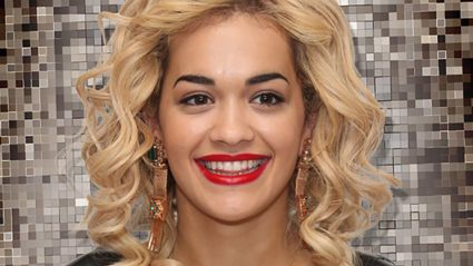 Rita Ora is pictured looking unrecognisable at pre-Grammy party
