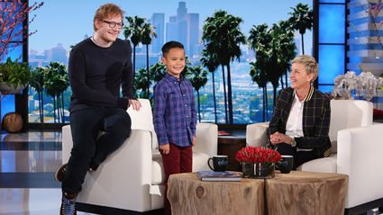 This 8-year-old getting starstruck over Ed Sheeran is the cutest thing you'll see all day!