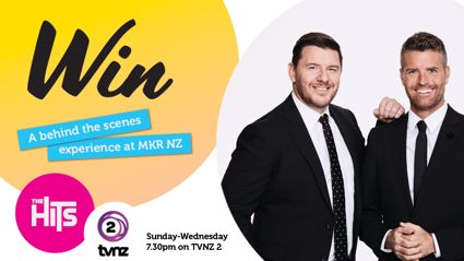 Win a Behind the Scenes Experience with Pete and Manu at MKR NZ!