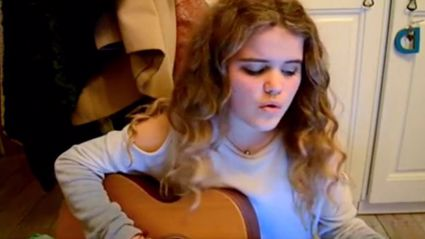 Teen performs beautiful acoustic cover of 'Grease' classic 'Hopelessly Devoted To You'