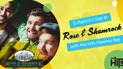 WIN! Join Adam & Sarah for the annual St. Patrick's Day breakfast at The Rose & Shamrock!