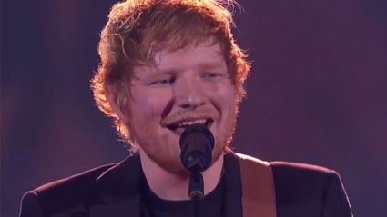 Ed Sheeran performs swoonworthy renditions of 'Shape Of You' and 'Castle On The Hill' at the iHeart Awards