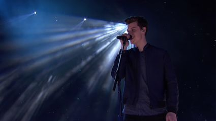 Shawn Mendes performs 'Mercy' at the iHeartRadio Music Awards 2017