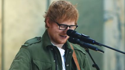 Ed Sheeran covers Justin Bieber's 'Love Yourself' and it's incredible!