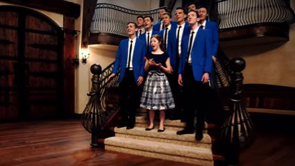 This acapella group will wow you with their amazing 'Beauty and the Beast' medley!
