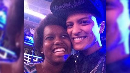 Bruno Mars Sings to Car Crash Survivor