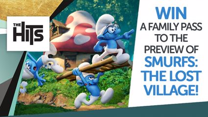 Win tickets to The Hits exclusive Smurfs movie preview!