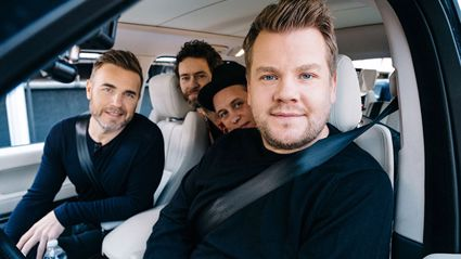 Take That joins James Corden on 'Carpool Karaoke' - and it's hilarious!