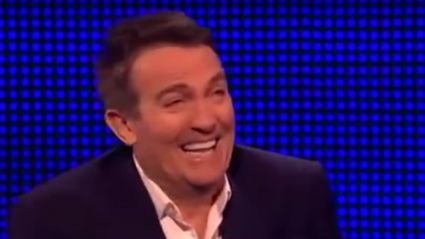 Bradley Walsh was left in fits yet again after asking another rude question!