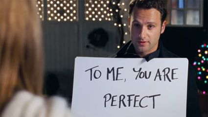 "Love Actually star Andrew Lincoln says he was a ""creepy stalker"" in the film"