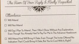 This brutally honest wedding invitation is the best we've seen!