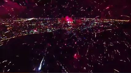 Fireworks Show From A New Perspective