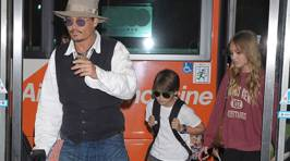Johnny Depp's daughter is all grown up and looks just like her father!