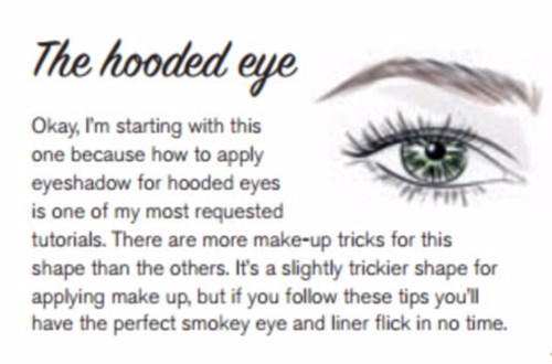 TIPS FOR THE HOODED EYE