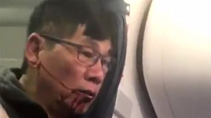 Watch the shocking video of a man being violently removed from overbooked United flight