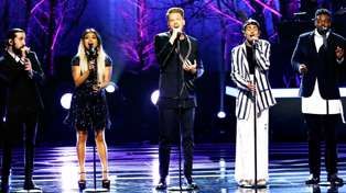 Pentatonix perform the most beautiful rendition of the Bee Gees' 'Too Much Heaven'