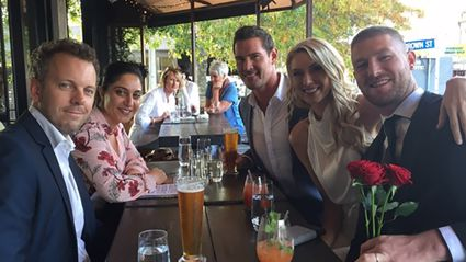 What's the Bachelor doing with this Married At First Sight star?