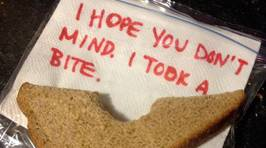 Hilarious notes that parents have left for their children