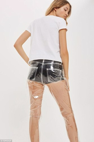 Topshop Has Just Introduced Completely See Through Jeans