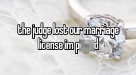 People reveal their unbelievable marriage licence mishaps